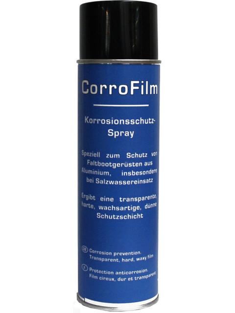 nortik CorroFilm - 500 ml  avec tuyau d'injection de 60 cm bleu